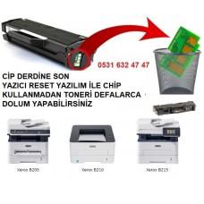 Xerox B215 RESET YAZILIMI.....